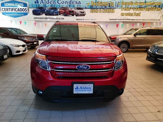 Ford Explorer 2015 5p Limited V6/3.5 Aut