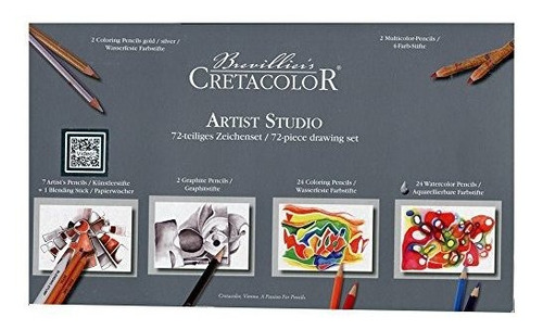 Cretacolor Artist Studio Set 72 Piezas