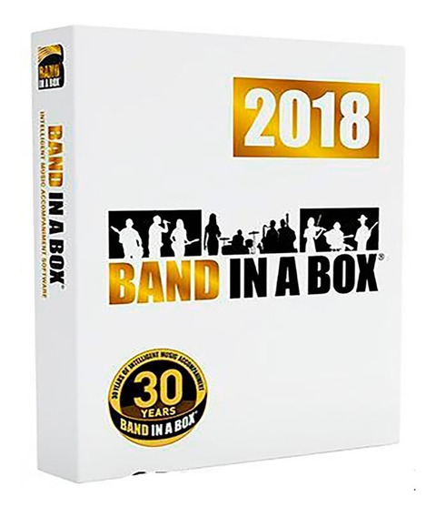 Band-in-a-box 2018 Mac Ultrapack