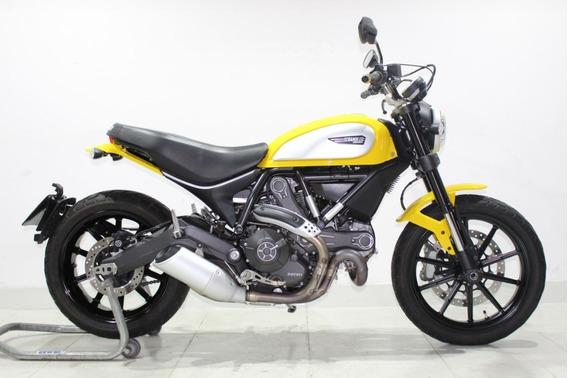 Ducati Scrambler Icon 2016 Amarela