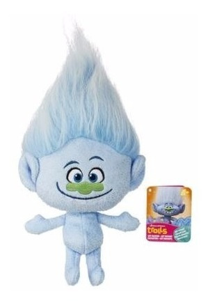 Trolls Pelúcia Diamantino Guy Boneco Original Hasbro 30cm