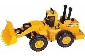 Trator De Brinquedo Carregadeira Columbus 58cm Retro Escavad