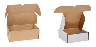 Caja Cartón Envío Para Tiendas Online Con O Sin Impresión