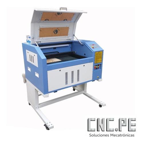 Máquina Cnc Láser Co2 80w 6040 Con Cw3000 Corte Y Graba Igv