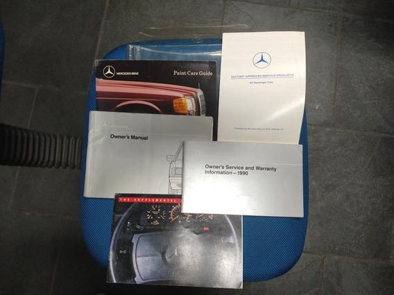Manual Do Prop. Mercedes Benz W201 190e 2.3 2.6
