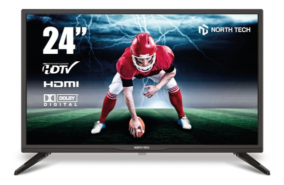 Tv Led North Tech 24 Isdb-t Usb Hd Hdmi Nuevo Netkey