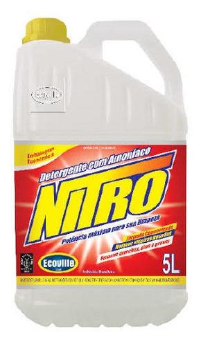 Detergente Com Amoníaco Nitro 5l