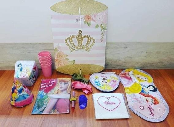 Kit Cotillón Infantil Princesas