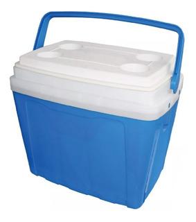 Cooler Para O Verão Caixa Térmica 16l Azul - Antares Full