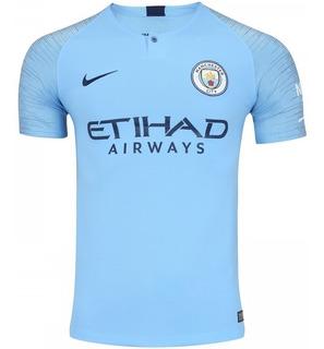 Camisa Vaporknit Manchester City Aguero 10 Envio Imediato