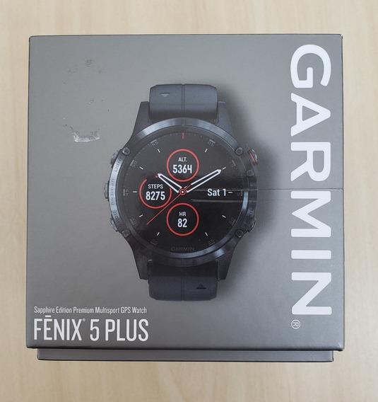 Relogio Garmin Fenix 5 Plus Safira Gps Multisportivo Usado!