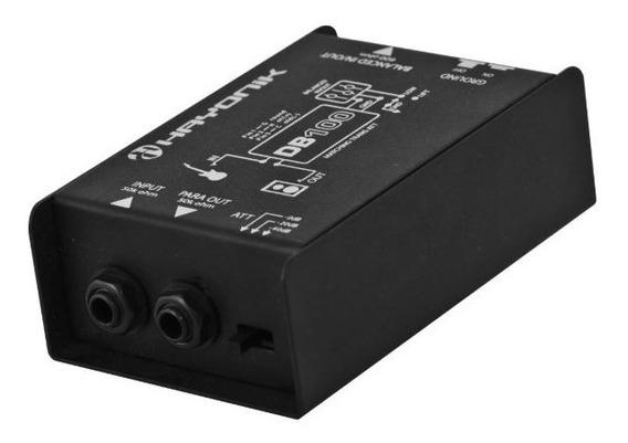 Direct Box Passivo Db100 Hayonik Converte P10 Xlr Balanceado