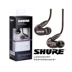 Fone De Ouvido In Ear Shure Se215-k - Ac1457
