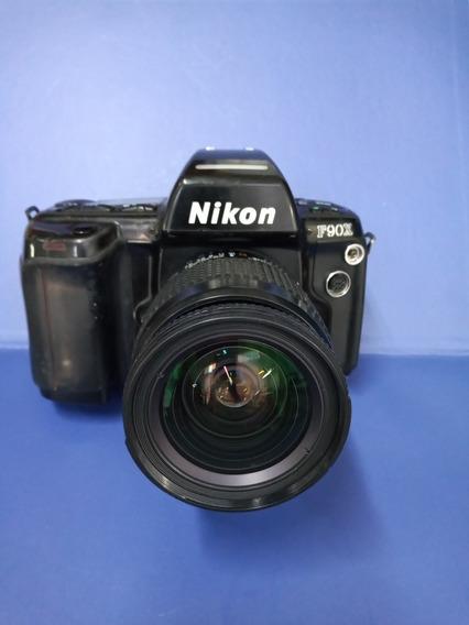 Câmera Fotográfica Analógica Nikon F90x Com Lente 28-80mm