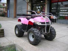 Cuatriciclo Phanter 110cc Ploteado,color Original Rojo