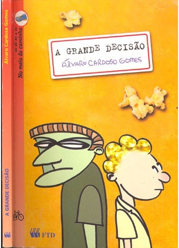 Livro A Grande Decisão - Álvaro Cardoso Gomes