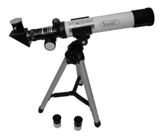 Telescópio Profissional 40mm Com Tripé F400 40m Csr F40040m