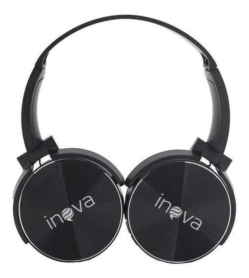 Fone De Ouvido Estéreo Headphone Metalizado Sem Fio 5.0