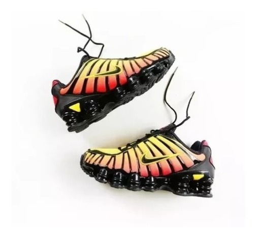 Tenis Masculino Nike Shox 12 Molas Masculino Black Friday!!