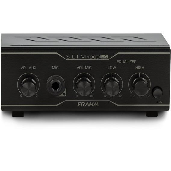 Amplificador Receiver Som Ambiente Frahm Slim 1000