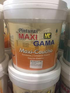 Cuñete Pintura Maxi Gama Caucho Blanco