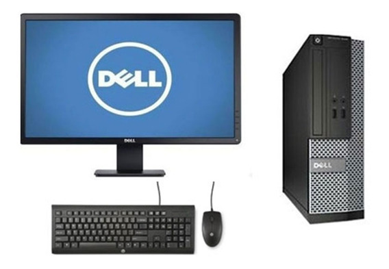 Cpu Monitor Dell Optiplex Core I5 4gb 500gb - Barato