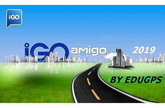 Nova Atualização Gps Igo Amigo 2019 7 Polegadas