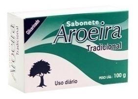 Sabonete De Aroeira Em Barra Kit C/ 12 Unidades Promoção