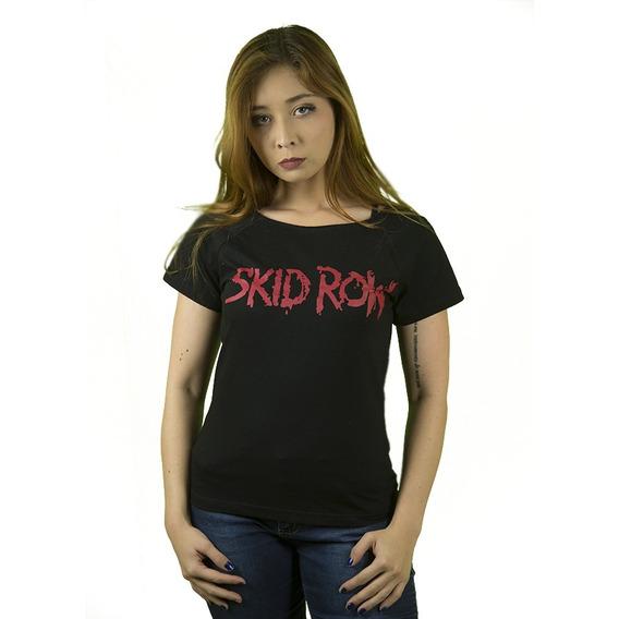 Camiseta Rock Skid Row Feminina