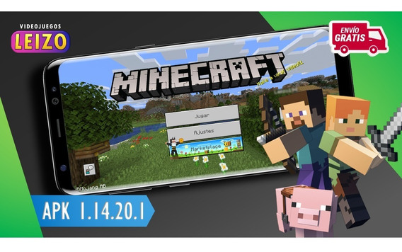 Minecraft Pocket Edition 1.14.20.1 (online) Android