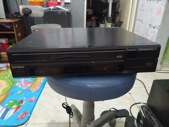 Video Laser Gradiente Mdp 100 Multidisc Player