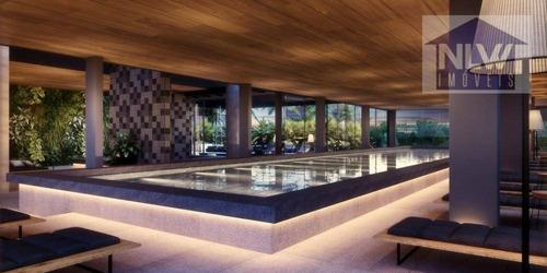 Apartamento Com 4 Dormitórios À Venda, 163 M² Por R$ 2.697.362,00 - Brooklin - São Paulo/sp - Ap1917