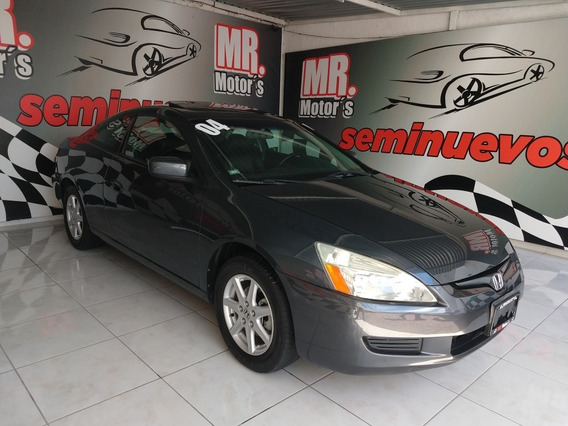 Honda Accord 3.0 Ex Coupe V6 Piel Abs Qc Cd At 2004