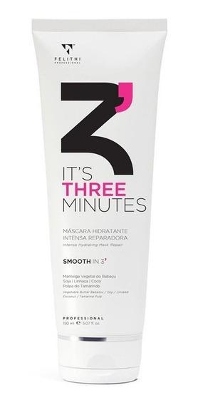 Felithi Three Minutes - Másc. Hid. Intensiva 3 Min 150ml