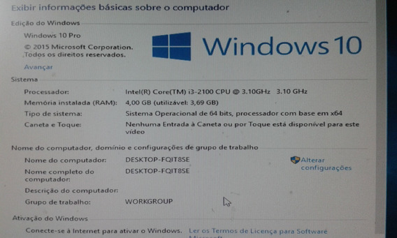 Processador Intel Core I3 2100 Lga 1155 - 100%