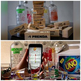 Combo Previa Jenga Picante + Uno Drink Cuotas Sin Interes