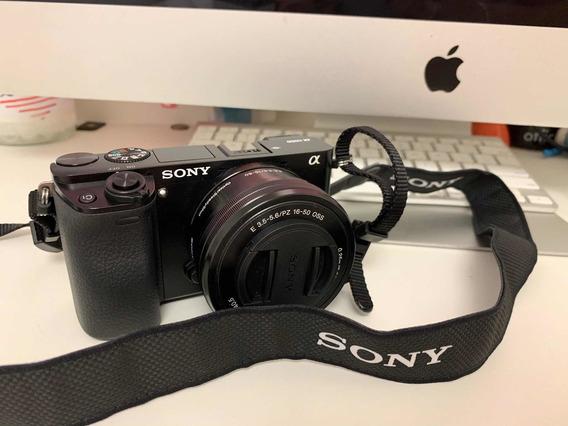 Sony A6000 + Lente 16-50mm F3.5-5.6 Oss E-mount Nex Series