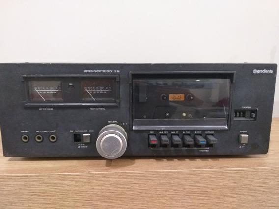 Deck S 96 Gradiente - Reprodutor De Fitas Cassete Vintage