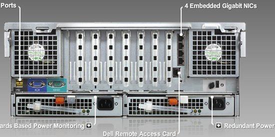 Servidor Dell Poweredge6850 16gb Ram S/hd Bi-proc D.core 3.0