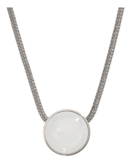 Collar Dama Skagen Sea Glass Skj0080040 Color Plateado