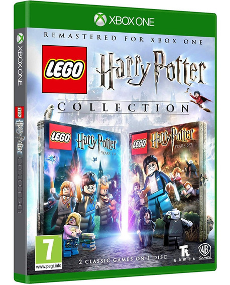 Jogo Lego Harry Potter Collection Xbox One Disco Fisico Novo