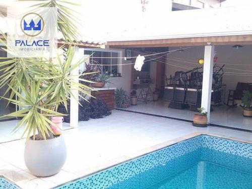 Casa Com 3 Dormitórios À Venda, 244 M² Por R$ 995.000,00 - Dois Córregos - Piracicaba/sp - Ca0910