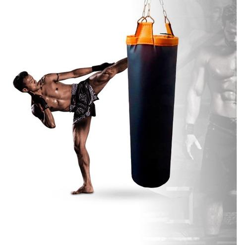 Puching Ball Pushing Bag Saco De Box De Cuero 110 Cm Aprox