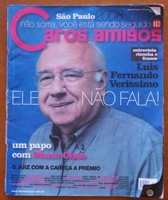 Revista Caros Amigos Nº 130 Jan/2008 Verissimo Manu Chao