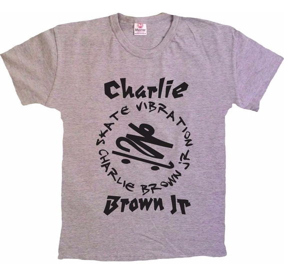 Camisetas Rock - Charlie Brown Jr - Skate - 100% Algodão!!