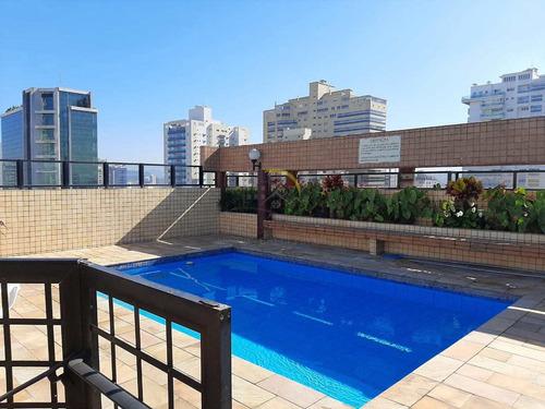 Apartamento Com 1 Dorm, Aparecida, Santos - R$ 380 Mil, Cod: 2508 - V2508