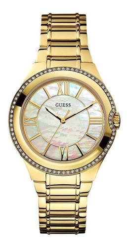 Relógio Guess Feminino Dourado 92447lpgsda3 W0112l1