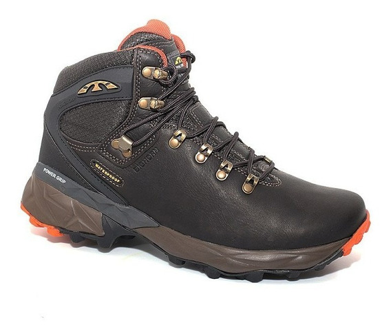 Bota Coturno Bull Terrier Bighorn Couro Natural Water Proof