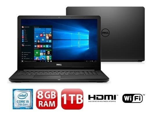 Notebook Dell Inspiron I15-3567 I5 7 Geraçao 8gb 1 Tera !!