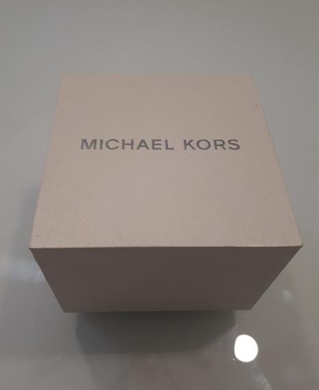 Relógio Original Michael Kors Mod Mk6485 Rose Gold